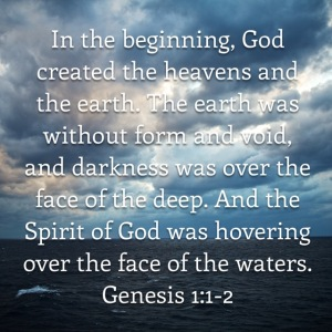 Genesis 1 verse 1-2