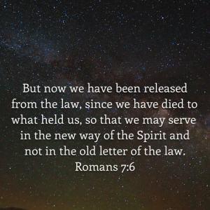 Romans 7 verse 6