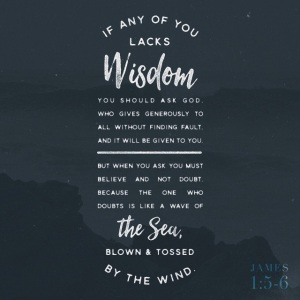 James 1 verses 5-6