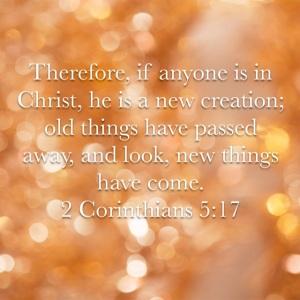 2 Corinthians 5 verse 17