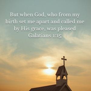 Galatians 1 verse 15