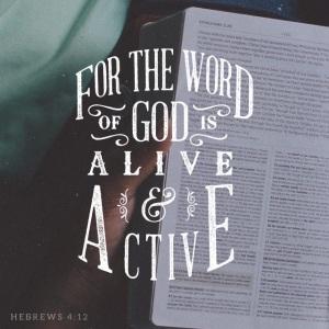 Hebrews 4 verse 12