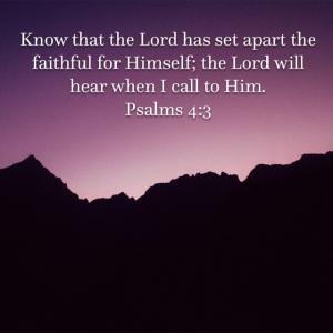 Psalm 4 verse 3
