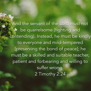 2 Timothy 2 verse 24