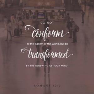 Romans 12 verse 2