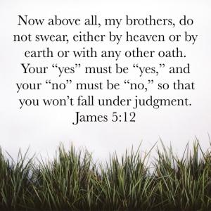 James 5 verse 12