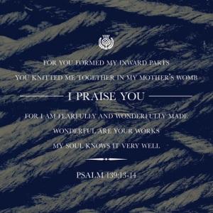 Psalm 139 verse 13-14