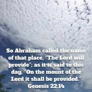 Genesis 22 verse 14