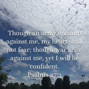 Psalm 27 verse 3