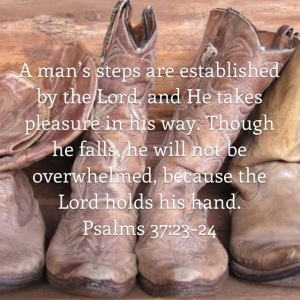 Psalm 37 verse 23 and 24