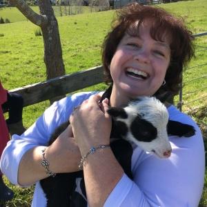 rene-holding-a-little-lamb