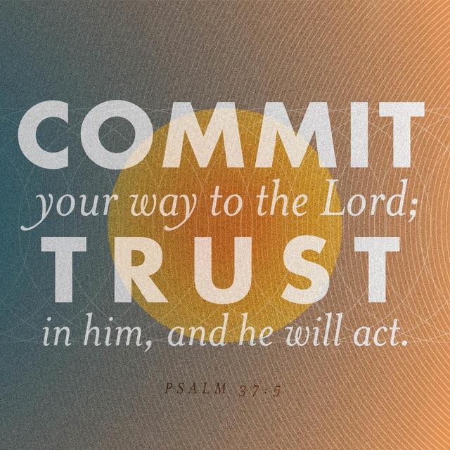 Psalm 37 verse 5