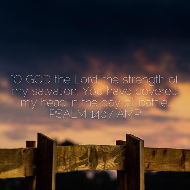 Psalm 140 verse 7