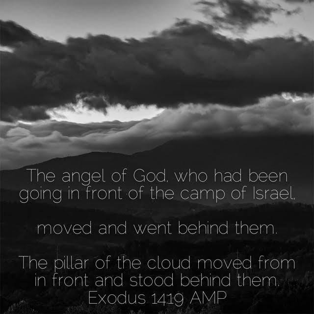 Exodus 14 verse 19