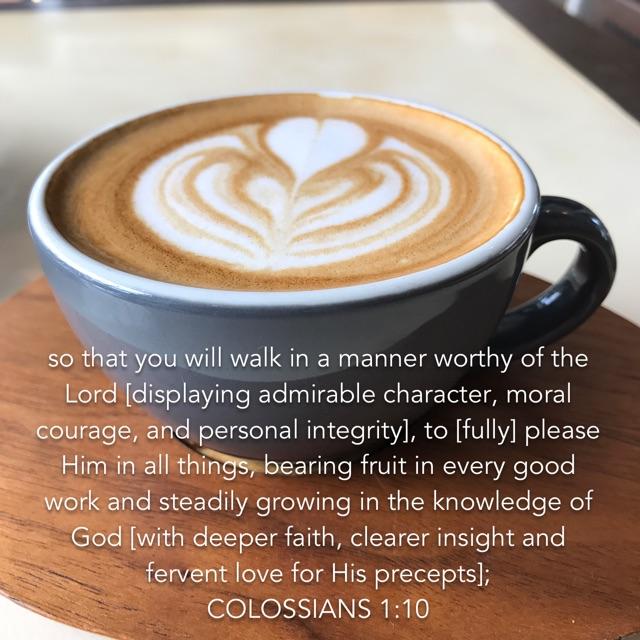 Colossians 1 verse 10