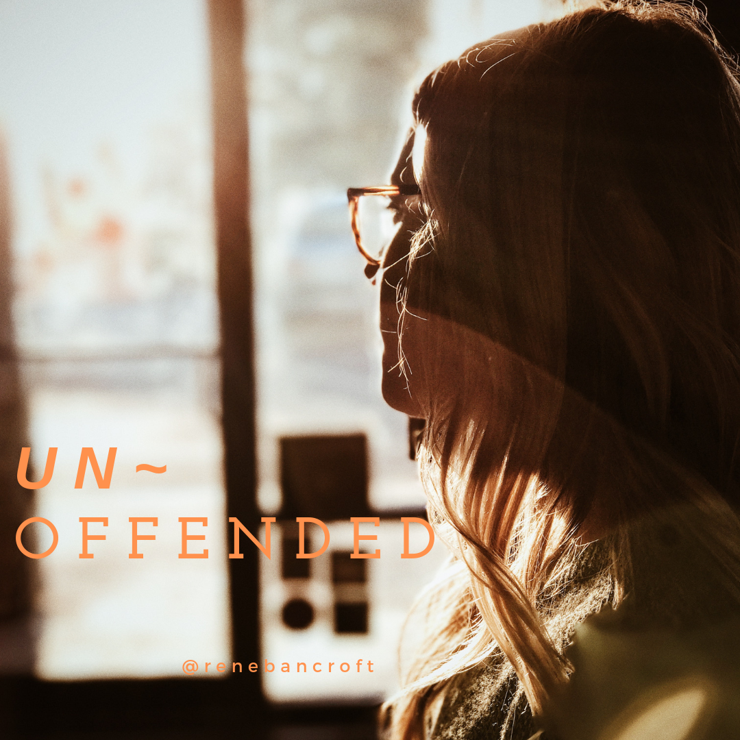 Unoffended blog