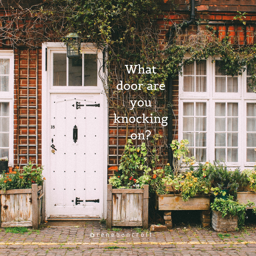 What door are you knocking on