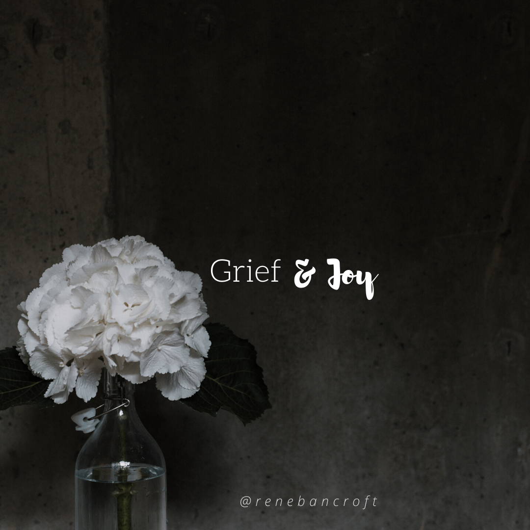 Holding Together Grief and Joy - blog pic