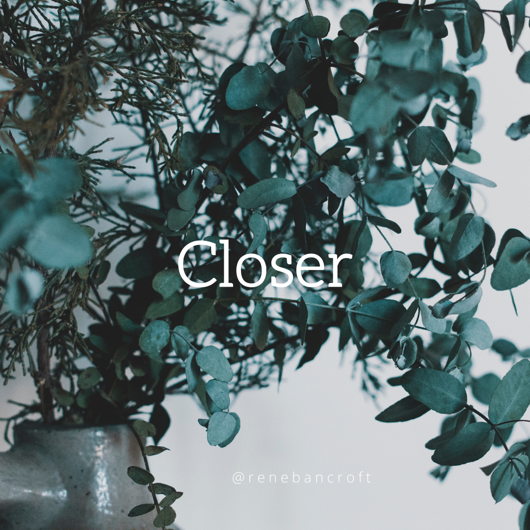 Closer than you think - blog with text