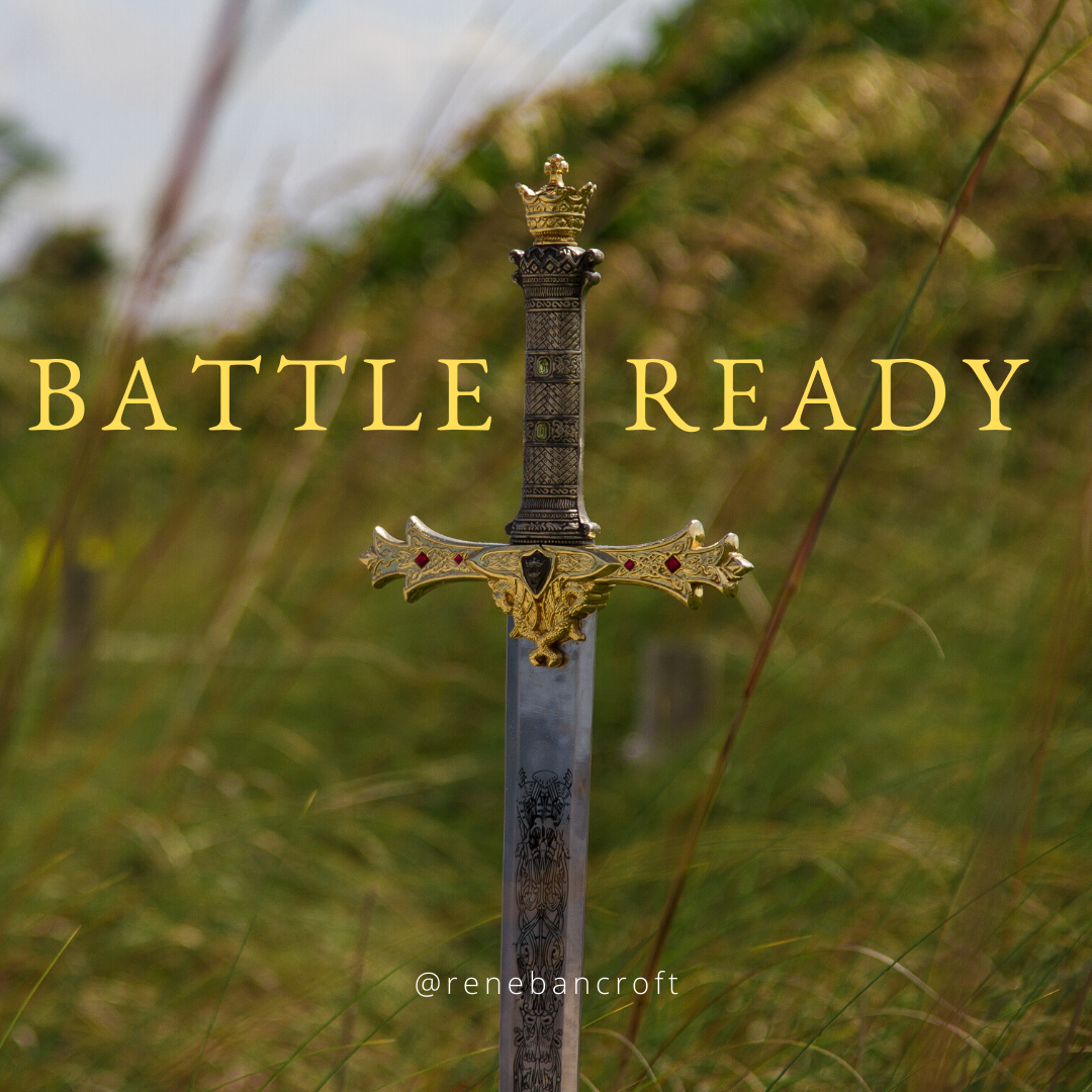 Clean Your Sword blog - Battle Ready text